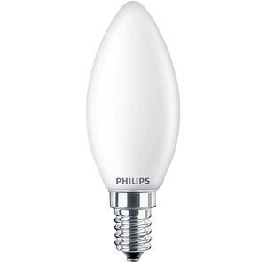 PHILIPS LED-Lampe Classic LEDcandle E14 6,5 W matt