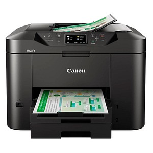 Canon MAXIFY MB2750 4 in 1 Tintenstrahl-Multifunktionsdrucker schwarz