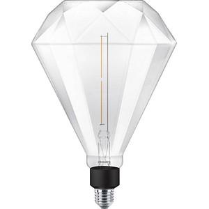 PHILIPS LED-Lampe LEDbulb Giant Diamond E27 4 W klar