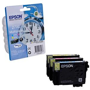 3 EPSON 27XL T2715XL cyan, magenta, gelb Tintenpatronen