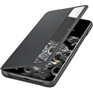 SAMSUNG Clear View Cover Handy-H uuml lle f uuml r SAMSUNG Galaxy S20 Ultra schwarz