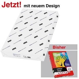 tecno Laserpapier colour print DIN A3 200 g/qm 250 Blatt