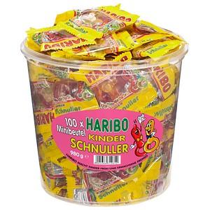 Fruchtgummis KINDER SCHNULLER Minibeutel von HARIBO