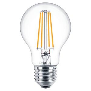 PHILIPS LED-Lampe Classic LEDbulb E27 7 W klar
