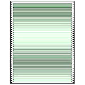 SIGEL Endlospapier A4 hoch 1-fach, 60 g/qm grün 2.000 Blatt