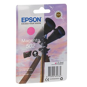 EPSON 502/T02V34 magenta Tintenpatrone