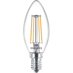 PHILIPS LED-Lampe Classic LEDcandle E14 4,3 W klar