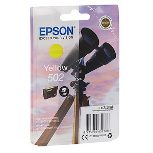 EPSON 502/T02V44 gelb Tintenpatrone