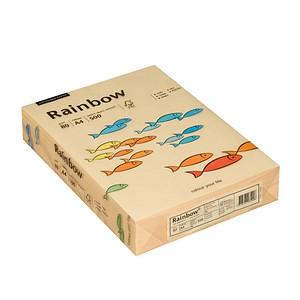 Rainbow Kopierpapier COLORED PAPER chamois DIN A4 80 g/qm 500 Blatt