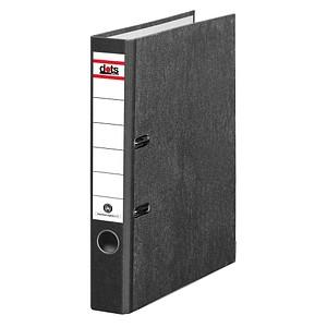 dots Ordner schwarz marmoriert Karton 5,0 cm DIN A4