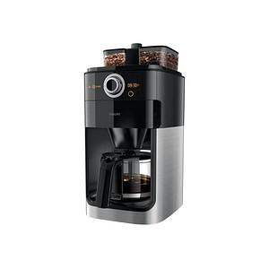 PHILIPS Grind amp Brew HD7767 00 Kaffeemaschine silber
