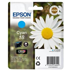 EPSON 18 T1802 cyan Tintenpatrone
