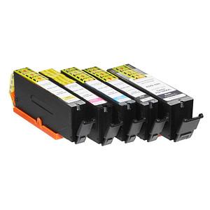 5 edding EDD-625 2x schwarz, cyan, magenta, gelb Tintenpatronen ersetzen Canon PGI-580XXL BK, CLI-581XXL BK/C/M/Y