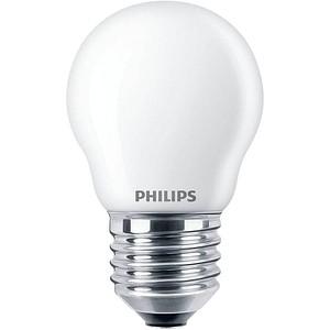 PHILIPS LED-Lampe Classic LEDluster E27 4,3 W matt