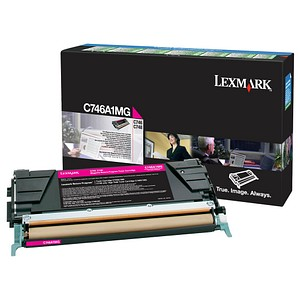 Lexmark C746A1MG magenta Toner