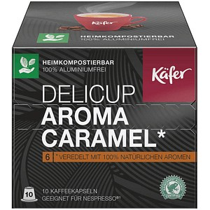 Käfer DELICUP AROMA CARAMEL Kaffeekapseln 10 St.