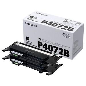 2 SAMSUNG CLT-P4072B SU381A schwarz Toner