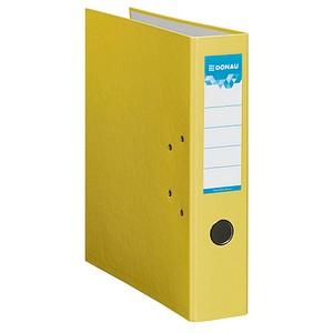 DONAU Klassik Ordner gelb Karton 7,5 cm DIN A4