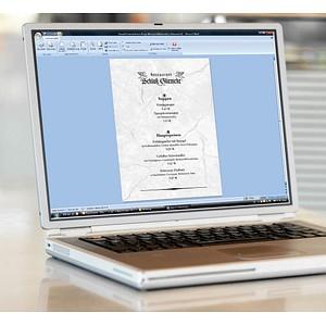 SIGEL Briefpapier Granit grau DIN A4 200 g/qm 50 Blatt