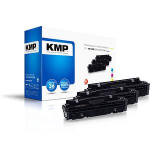 3 KMP H-T242XCMY cyan, magenta, gelb Toner ersetzen HP 410X (CF252XM)