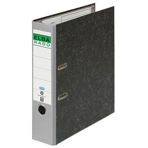 ELBA rado Wolkenmarmor Ordner grau marmoriert Karton 8,0 cm DIN A4
