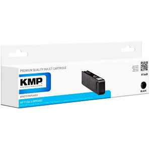 KMP H164B schwarz Tintenpatrone ersetzt HP 913A (L0R95AE)
