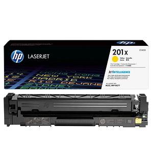 HP 201X (CF402X) gelb Tonerkartusche