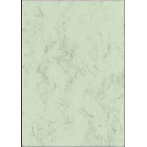 SIGEL Briefpapier Marmor pastellgrün DIN A4 200 g/qm 50 St.