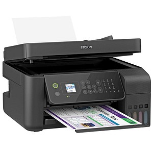 EPSON EcoTank ET-4700 4 in 1 Tintenstrahl-Multifunktionsdrucker schwarz