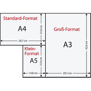 Printus Kopierpapier Color lachs DIN A4 160 g/qm 250 Blatt