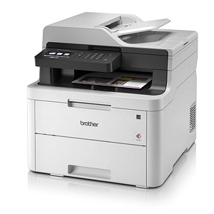 brother MFC-L3710CW 4 in 1 Farblaser-Multifunktionsdrucker grau