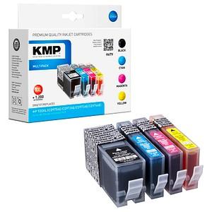 4 KMP H67V schwarz, cyan, magenta, gelb Tintenpatronen ersetzen HP 920XL (C2N92AE)