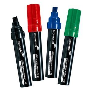 4 Legamaster TZ 48 Flipchart-Marker farbsortiert 4,0 - 12,0 mm