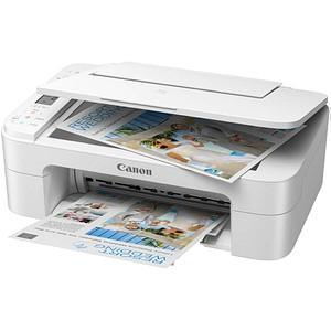 Canon PIXMA TS3351 3 in 1 Tintenstrahl-Multifunktionsdrucker weiß