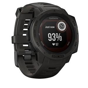 GARMIN Instinct Solar Smartwatch schiefergrau