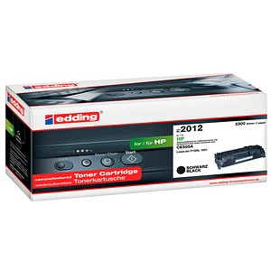 edding EDD-2012 schwarz Toner ersetzt HP 05A; Canon 719  Canon 719(CE505A)