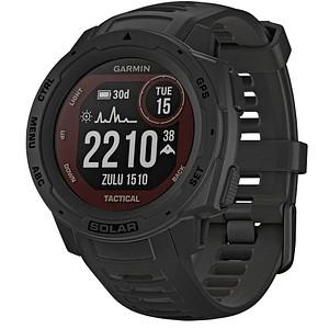 GARMIN Instinct Solar Tactical Smartwatch schwarz