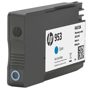 HP 953 (F6U12AE) cyan Tintenpatrone