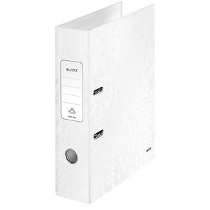 LEITZ Ordner weiß Karton 8,0 cm DIN A4