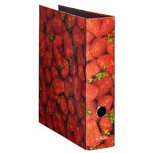 herlitz maX.file Fruits Motivordner Erdbeere 8,0 cm DIN A4