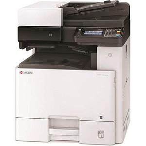 KYOCERA ECOSYS M8124cidn/KL3 3 in 1 Farblaser-Multifunktionsdrucker grau