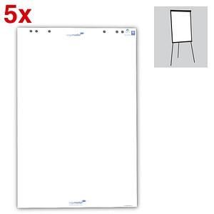Legamaster Flipchart-Papier blanko 65,0 x 98,0 cm, 20 Blatt, 5 Blöcke