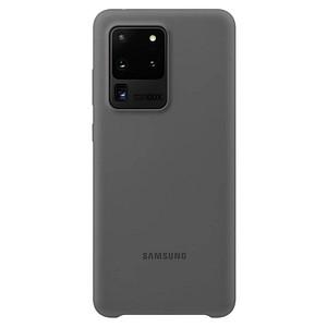 SAMSUNG Silicone Cover Handy-Cover f uuml r SAMSUNG Galaxy S20 Ultra grau