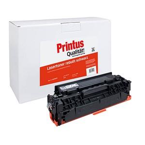 Printus schwarz Toner ersetzt HP 304A (CC530A)