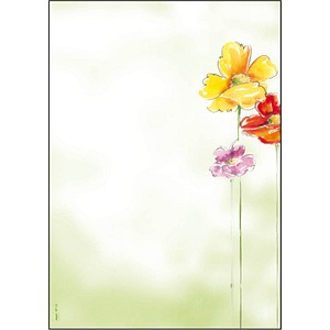 SIGEL Motivpapier Spring Flowers Motiv DIN A4 90 g/qm 50 Blatt