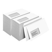 Briefumschläge Kuverts DIN Lang mit Selbstklebestreifen ohne Fenster Grün