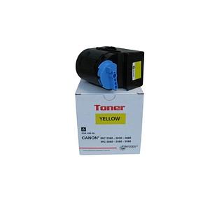 Intercopy gelb Toner ersetzt Canon C-EXV21 Y