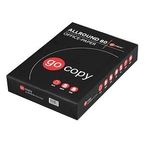 go copy Kopierpapier Allround 80 DIN A4 75 g/qm 500 Blatt