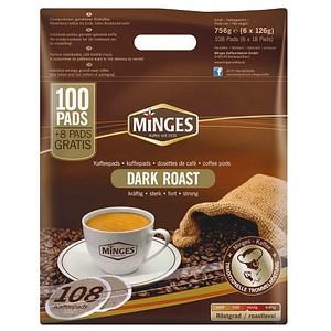 Kaffeepads PREMIUM DARK ROAST von MINGES
