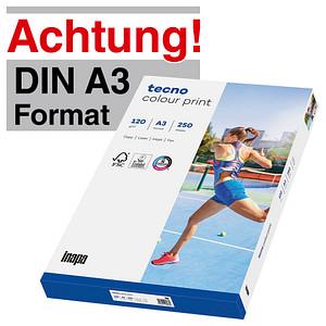 tecno Laserpapier colour print DIN A3 120 g/qm 250 Blatt